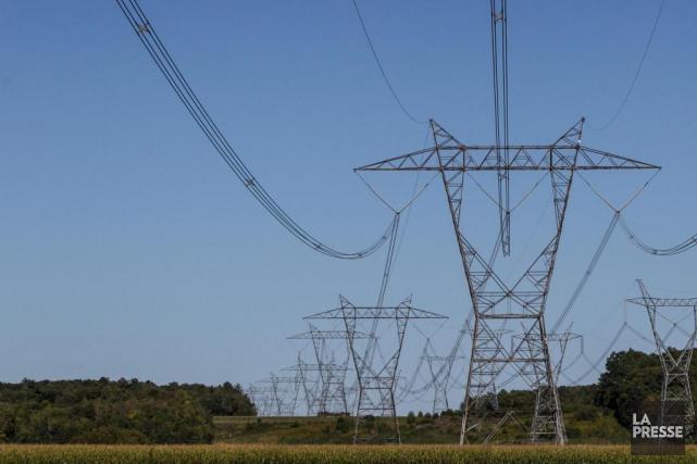 Hydro-Québec ne prévoit qu'une croissance «modérée» de la... (Photo Hugo-Sébastien Aubert, Archives La Presse)