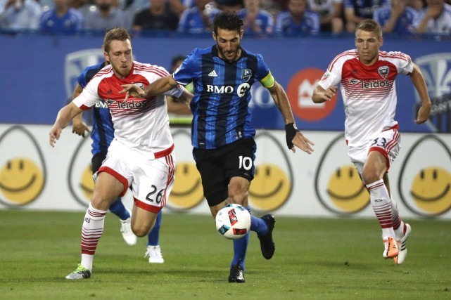 L'Impact de Montréal affronte ce soir D.C. United... (Photo Jean-Yves Ahern, USA Today Sports)
