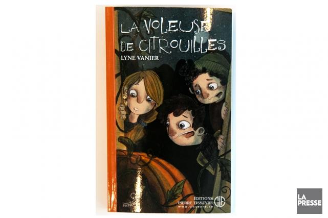 La voleuse de citrouilles,Lyne Vanier etEnzo, ÉditionsPierre Tisseyre... (PHOTO FRANÇOIS ROY, LA PRESSE)