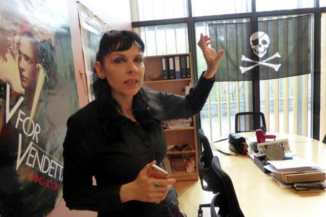 La députée «pirate» Birgitta Jonsdottir, cofondatrice et porte-parole... (photo Gwladys Fouche, archives REUTERS)
