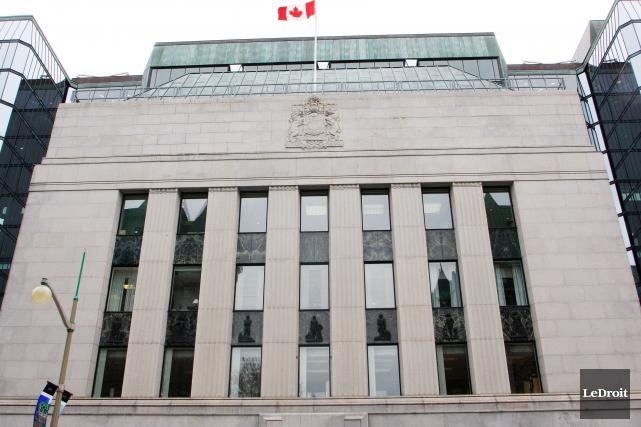 La Banque du Canada n'est pas obligée de suivre le calendrier de la Réserve... (PHOTOÉtienne Ranger, Archives Le Droit)