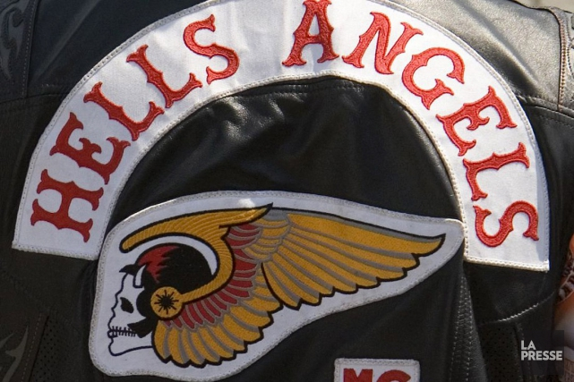 Six membres des Hells Angels et une de... (PHOTO ARCHIVES)