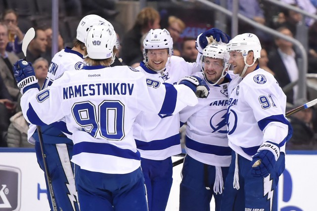 Le Lightning de Tampa Bay arrive à Montréal... (Photo Dan Hamilton, USA Today Sports)