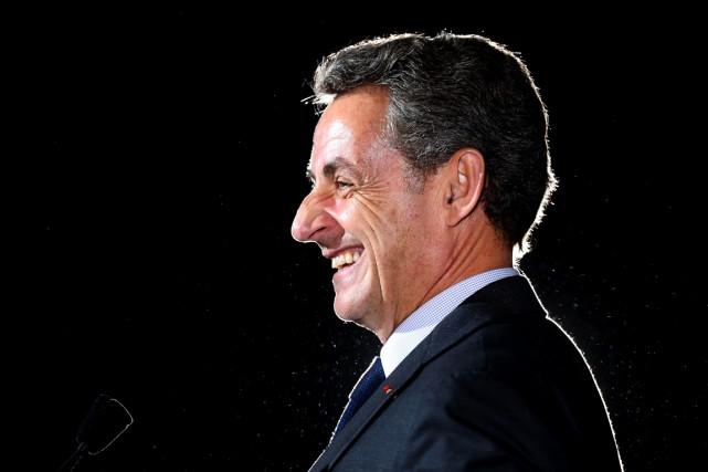 L'ancien président français Nicolas Sarkozy.... (photo FRANCOIS NASCIMBENI, archives AFP)