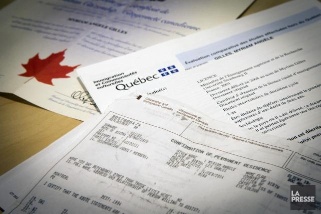 Le gouvernement du Québec prévoit accueillir quelque 51 000 immigrants en 2017,... (PHOTO OLIVIER JEAN, ARCHIVES LA PRESSE)