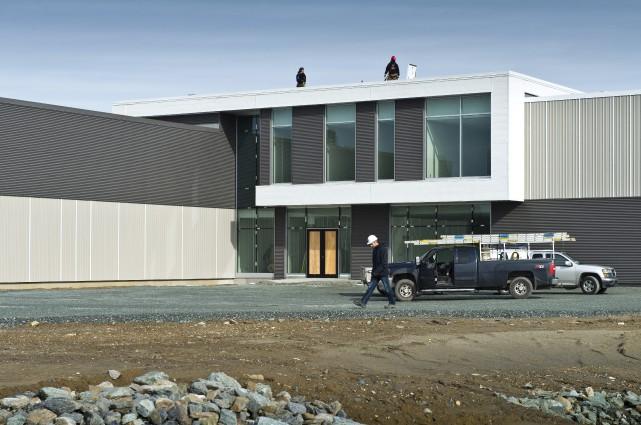 Le tout nouveau pavillon du parc Innovation-ACELP de... (Spectre Média, Jessica Garneau)