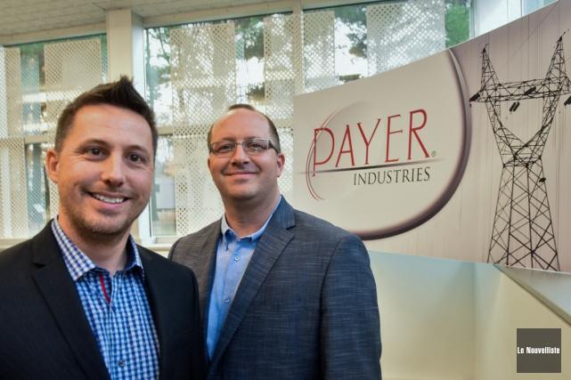 L'entreprise Industries Payer a de nouveaux propriétaires, Éric... (François Gervais, Le Nouvelliste)