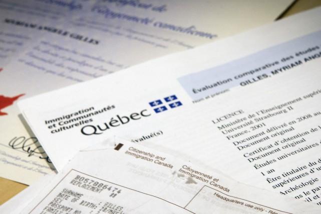 Le gouvernement du Québec prévoit accueillir quelque 51 000 immigrants en 2017,... (Archives, La Presse)