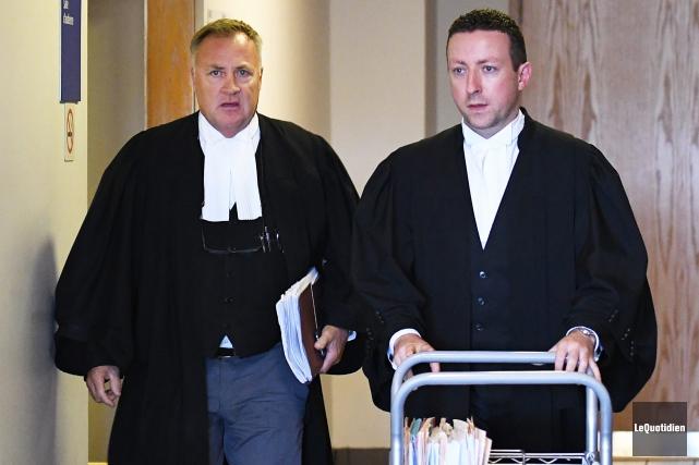 Le jury étant convoqué seulement mardi, Me Jean-Marc... (Archives Le Quotidien, Rocket Lavoie)