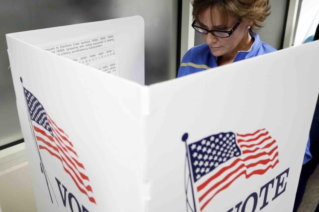 Dans certains États, les électeurs seront autorisés à... (AP, Marcio Jose Sanchez)