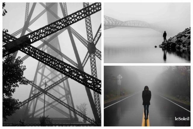 «C'est l'incertitude qui nous charme. Tout devient merveilleux dans la brume»,... (Le Soleil)