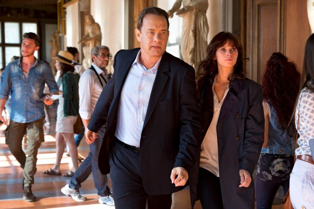 Alors que Robert Langdon (Tom Hanks), en partie... (Fournie par Columbia)