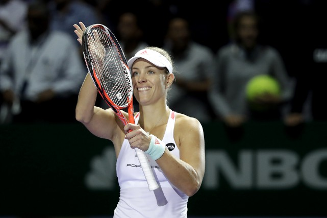 Angelique Kerber... (Photo AP)