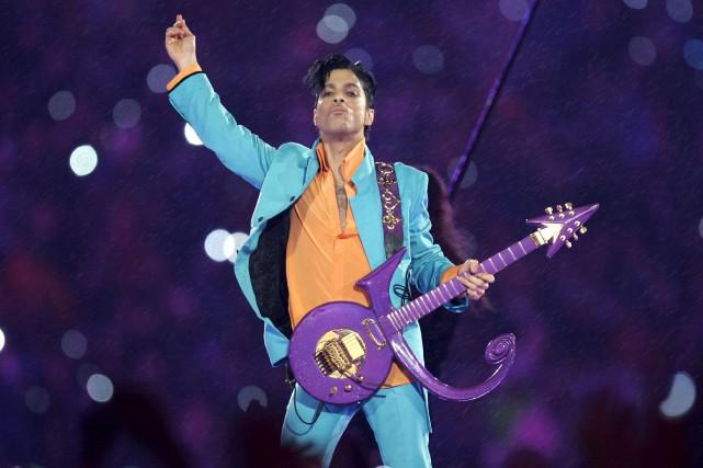 Prince est décédé d'une surdose de fentanyl le... (AP, Chris O'Meara)