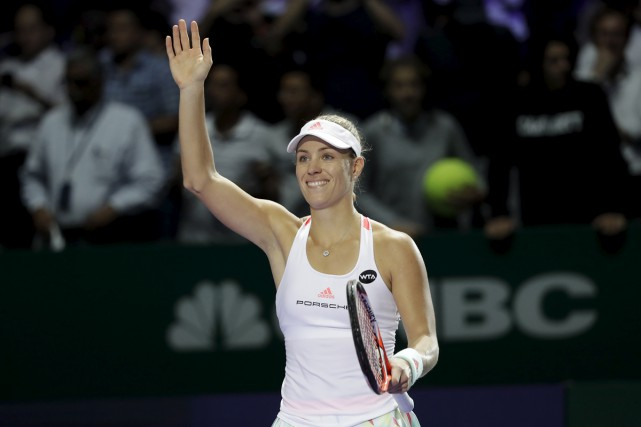 Angelique Kerber.... (Wong Maye-E, Associated Press)