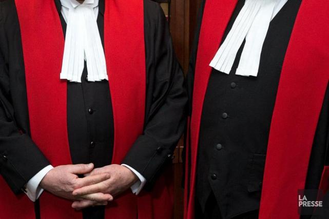 Les avocats du Journal de Montréal étaient en... (La Presse, ROBERT SKINNER)