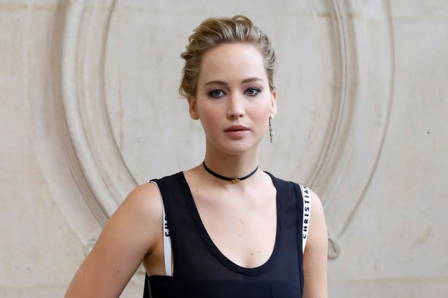 Jennifer Lawrence... (PHOTO ARCHIVES AFP)
