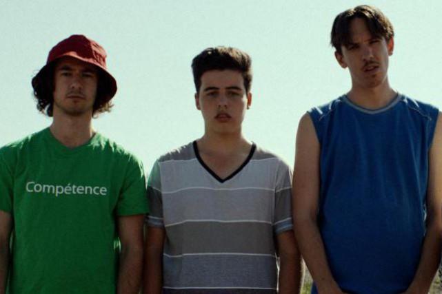 Simon Pigeon, Étienne Galloy et Alexandre Lavigne dans... (Photofournie par FunFilm)