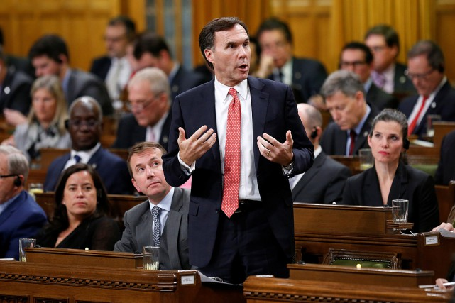 Le ministre fédéral des Finances, Bill Morneau.... (REUTERS)
