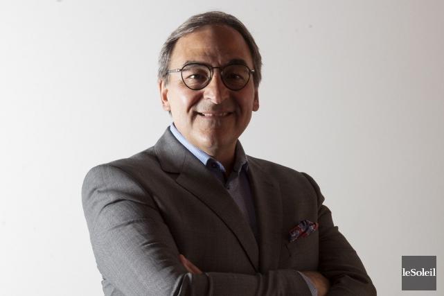 Martin Cauchon, président exécutif de Groupe Capitales Médias... (Le Soleil, Caroline Grégoire)