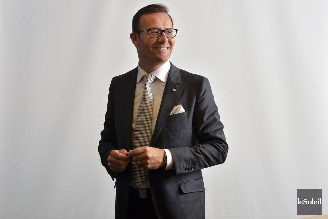 Guy Cormier, président et chef de la direction... (Le Soleil, Patrice Laroche)