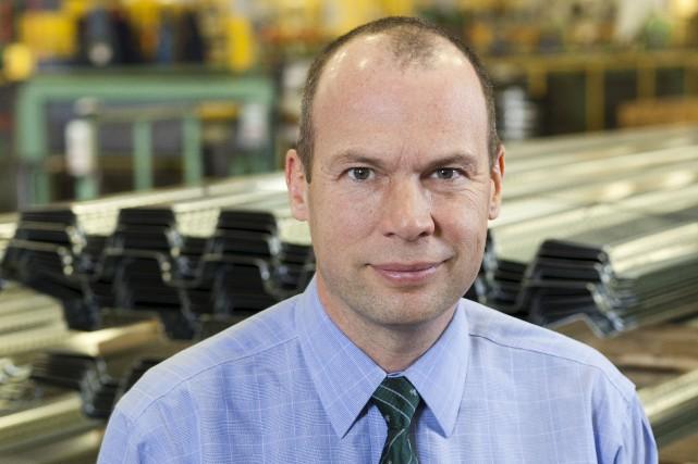 Marc Dutil, président et chef de la direction... (Fournie par Groupe Canam)
