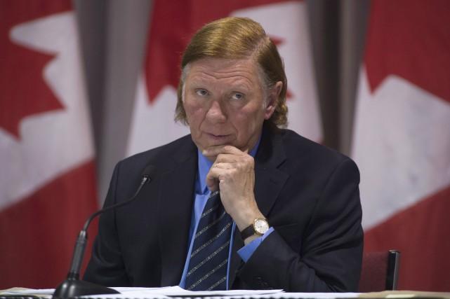 Le juge MalcolmRowea été choisi la semaine dernière... (Photo archives La Presse canadienne, Adrian Wyld)