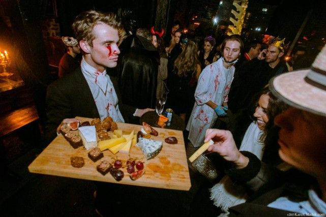 Le party Yelloween à l'Auberge Saint-Gabriel promet d'être... (Photo fournie par Yelloween / crédit Karel Chladek)