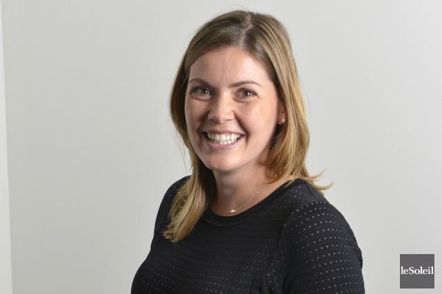 Marie-Claire Filion, vice-présidente d'Industrie Bourgneuf et responsable du... (Le Soleil, Yan Doublet)