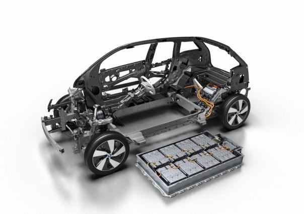 L'i3 est dotée cette année d'une nouvelle batterie... (Photo : BMW AG)
