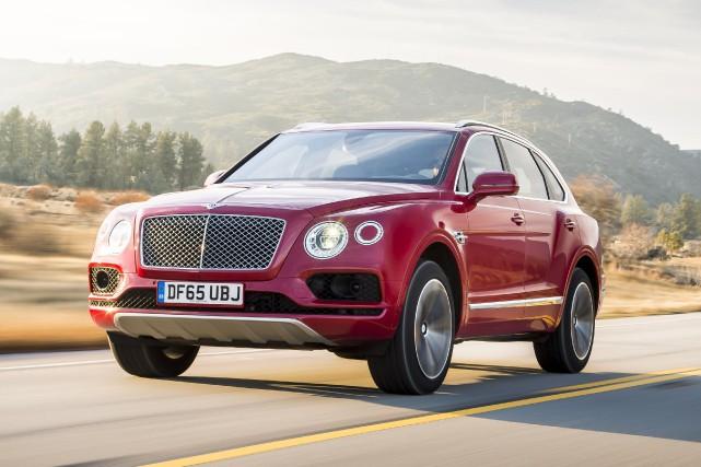 Malgré ses presque 5500 kilogrammes, le Bentley Bentayga... (Fournie par Bentley)