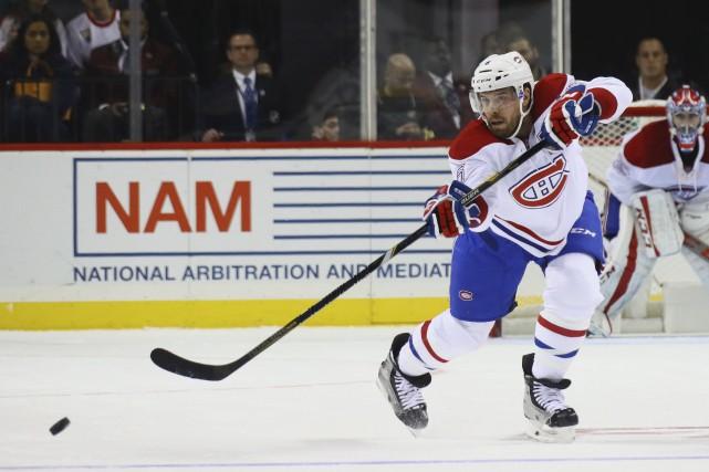 Le DG du Canadien de Montréal, Marc Bergevin,... (Bruce Bennett, AFP)
