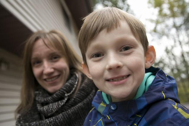 Vicky Boisvert rêve du jour où son fils... (Spectre Média, René Marquis)