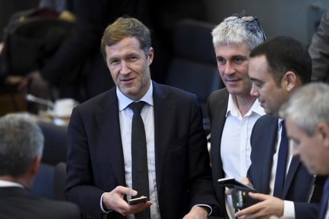 Le chef du gouvernement régional wallon, le socialiste... (AFP, JOHN THYS)