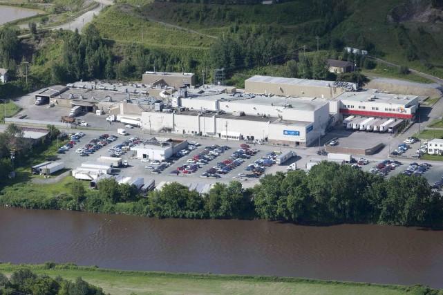 Une fois les 160 postes comblés, l'usine d'Olymel... (Fournie par Olymel)