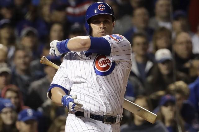 Miguel Montero et les Cubs ont été limités... (AP, David J. Phillip)