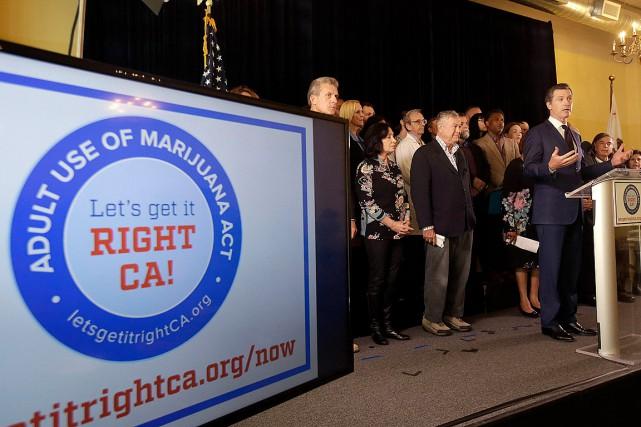 «Il est temps de légaliser, il est temps... (Photo Jeff Chiu, archives AP)