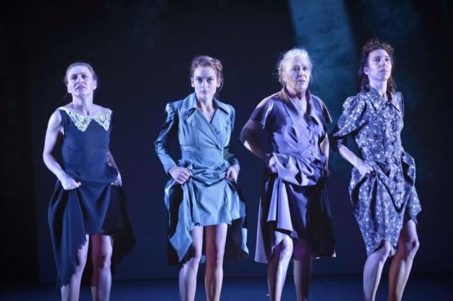 Évelyne Rompré, Sophie Desmarais, Louise Laprade et Evelyne... (PHOTO YANICK MACDONALD, FOURNIE PAR ESPACE GO)
