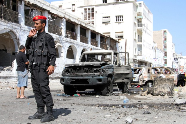 Au moins 30 rebelles et prisonniers ont été tués samedi dans l'ouest du Yémen... (Photo archives AFP)