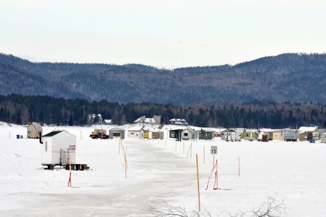 L'Association de pêche blanche de Lac-Kénogami a terminé... (Archives Le Progrès-Dimanche, Rocket Lavoie)