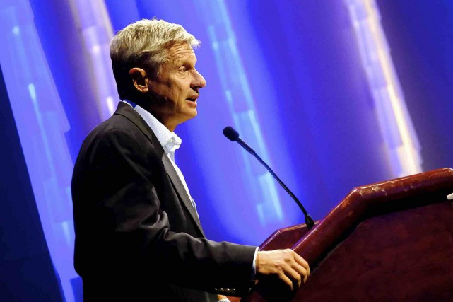 Gary Johnson... (AP, Salwan Georges)