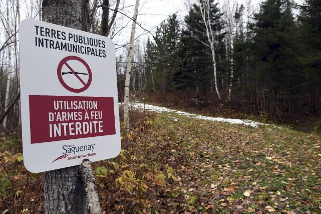 Pour éradiquer les activités de tir à l'arme... (Photo Le Progrès-Dimanche, Rocket Lavoie)