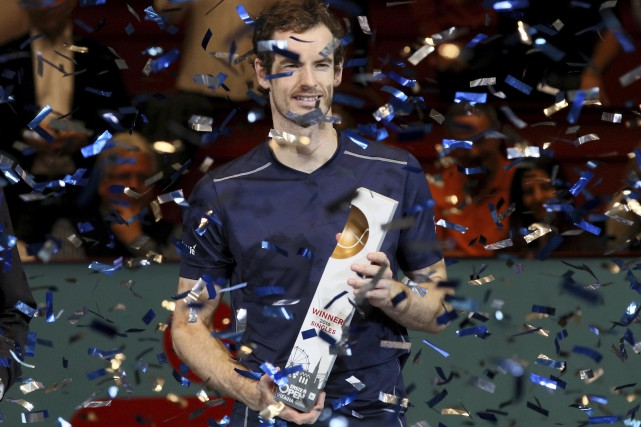 Andy Murray... (PHOTO Ronald Zak, AP)