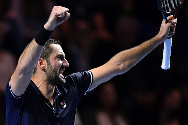 Marin Cilic... (PHOTO FABRICE COFFRINI, AFP)