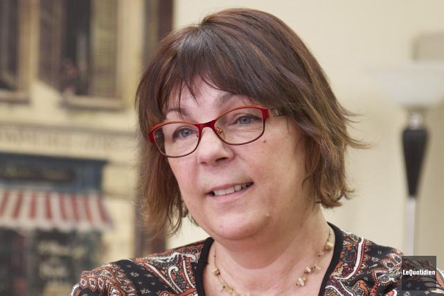 Marie-Christine Bernard assume la présidence d'honneur du Prix... (Archives Le Quotidien, René Bouchard)