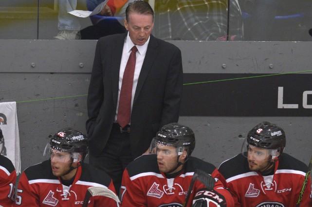 Marc Fortier, maintenant entraîneur adjoint des Diables rouges,... (Photothèque Le Soleil, Yan Doublet)