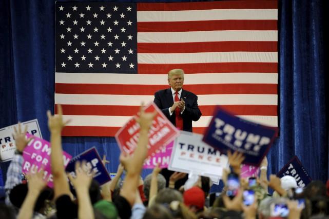 En Floride, le républicain Donald Trump est désormais... (AFP, Jason Connolly)