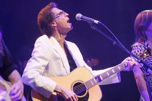 Le décès du chanteur franco-ontarien Paul Demers a... (Etienne Ranger, Archives LeDroit)