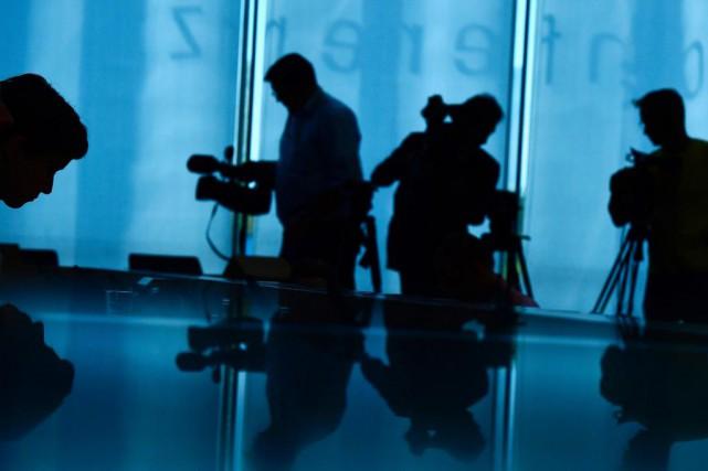 Les enquêtes policières visant des médias se sont... (Photo Tobias Schwarz, archives Agence France-Presse)