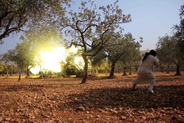 Depuis vendredi, les rebelles mènent une offensive lancée... (AFP)